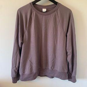 2/$18 H&M Basics / Mauve / Sweatshirt